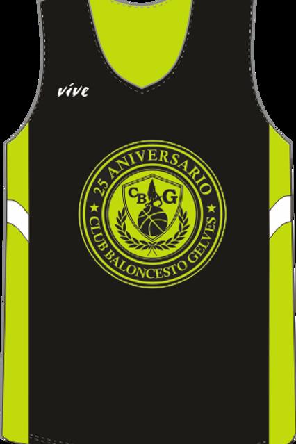 Camiseta de entrenamiento reversible