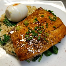 Salmon Silog