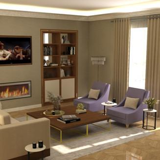 Apartment design, London