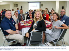 11 Schools celebrate implementation of evidenced-based curriculum through HFL funding