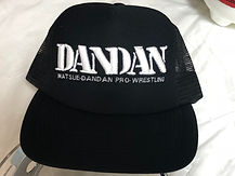 DANDAN刺繍CAP