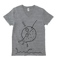 釣りVネックTシャツ