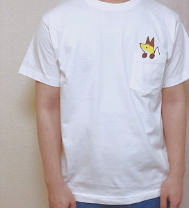 きつねと一緒Tシャツ