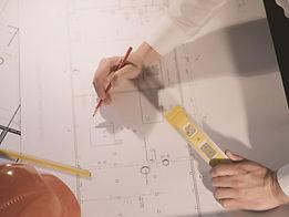plans d'architecture