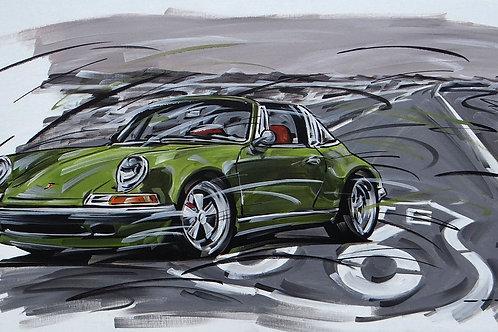 1304_Porsche 911 Targa 90x50