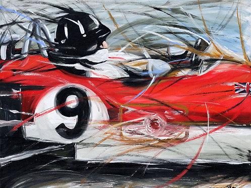 102_Graham Hill/Lotus_63x50cm