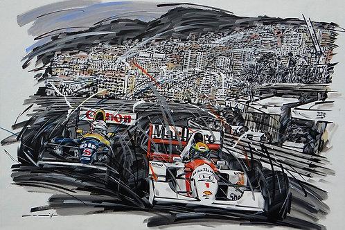 1316_Senna Mansell_GP Mônaco