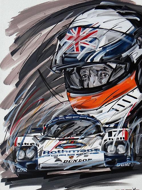 1165_Derek Bell_Porsche 962C Rothamans