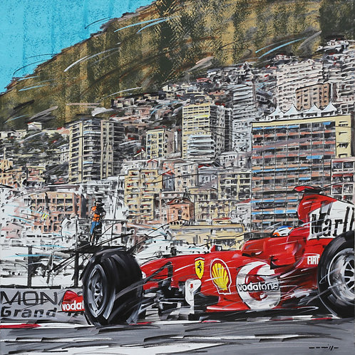 601_Ferrari_Monte Carlo_60x60cm
