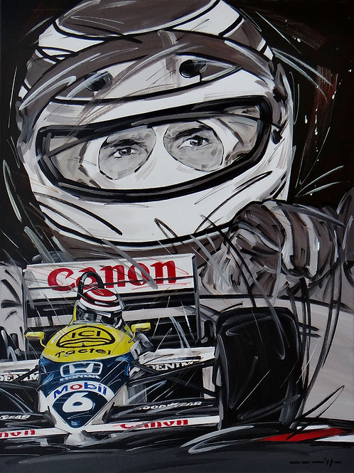 788_Nelson Piquet/Williams_68x50cm