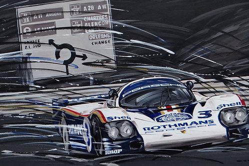 775_Porsche 956 Rothmans #3_70x38cm