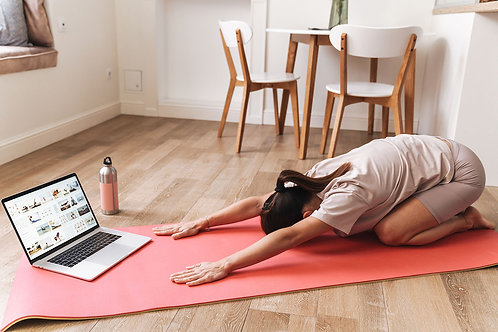 +50hrs Online Yoga Content Library