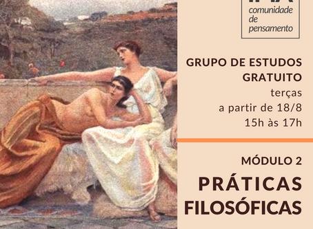 """Práticas Filosóficas – """"Exercícios Espirituais e Filosofia Antiga"""" [módulo 2]"""