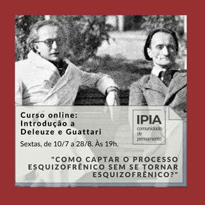Curso online: Introdução a Deleuze e Guattari