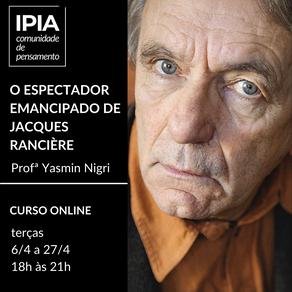O espectador emancipado de Jacques Rancière