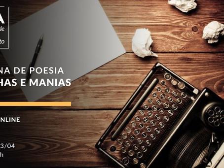 Oficina de poesia: manhas e manias