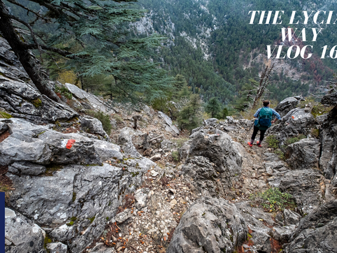 #16 Dry river beds, slippery rocks, many switchbacks…. & stealth camping….just another day on th