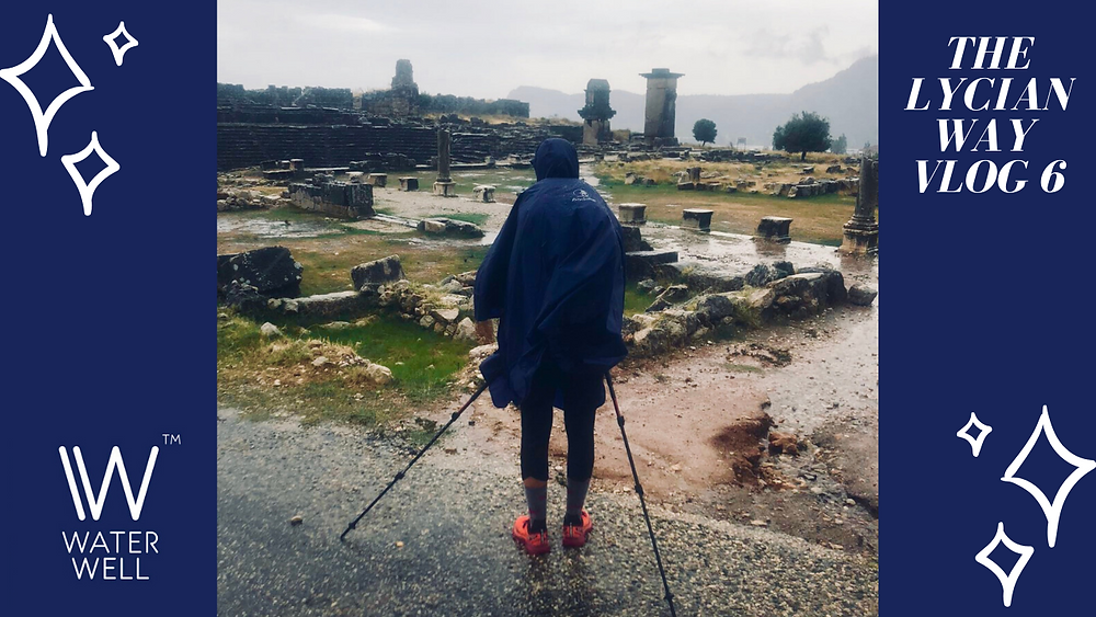 #6 Heavy rain and thunderstorms from Patara Green Park to Çavdır on the Lycian Way
