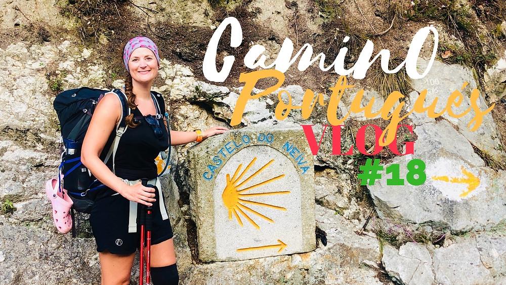 #18 Smokers, Big Snakes, Bridges & Pizza on the Camino Portugués!