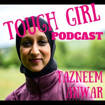 Tazneem Anwar - aka Taz @ThisHijabiRuns. Championing diversity in running.