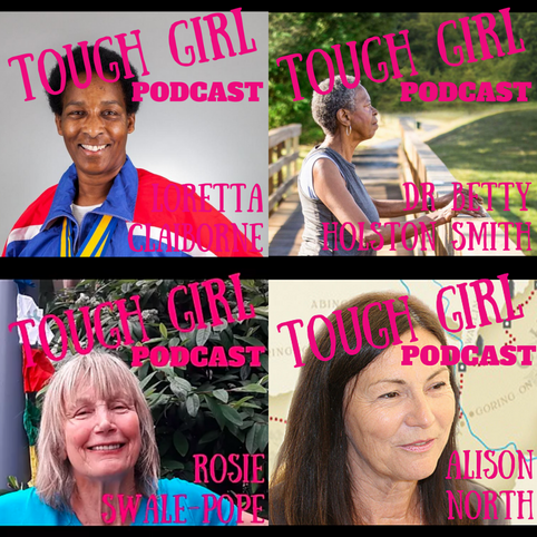 Runners Over 60 Guests of Tough Girl Podcast!