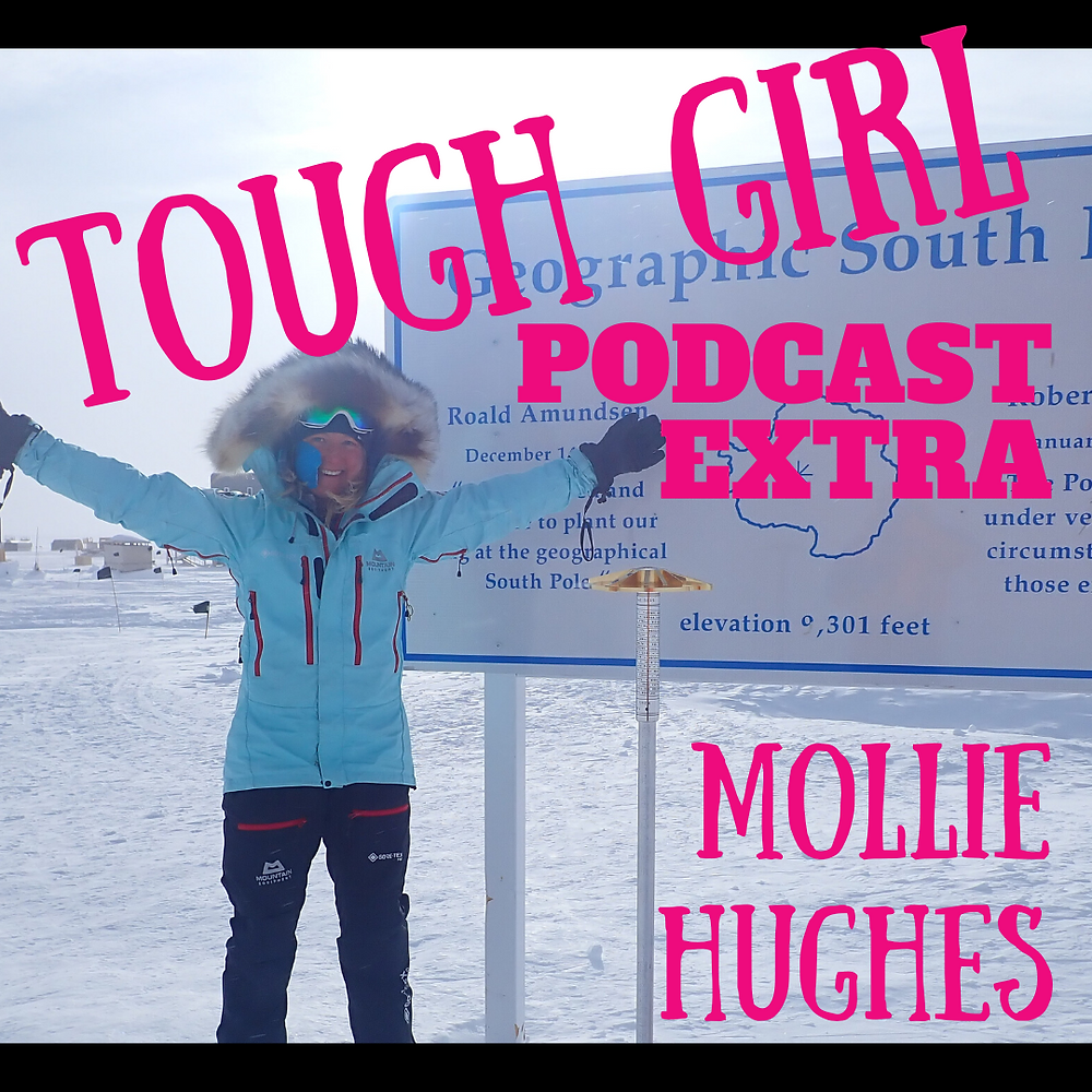 Wendy Searle - Adventurer, mother of 4 and 7th woman to ski solo and unsupported from Hercules Inlet to the South Pole!