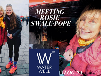 #24 Istanbul & Meeting the LEGEND Rosie Swale Pope who is running from the UK to Katmandu in Nep