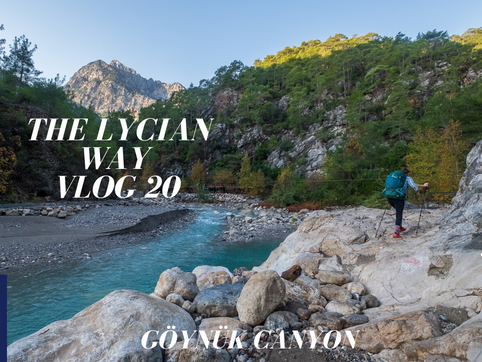 #20 Multiple water crossing and the incredible Göynük Canyon!