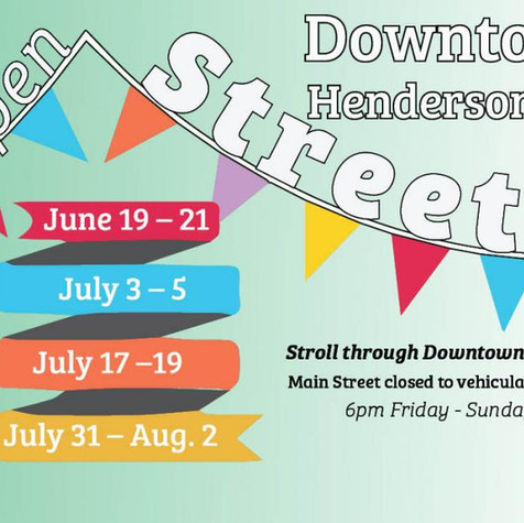 Hendersonville's Open Street Initiative - Featured in National Main Street Center Publication