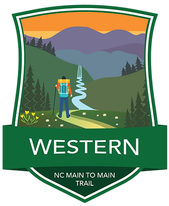 Western Region Main to Main Trail Badge