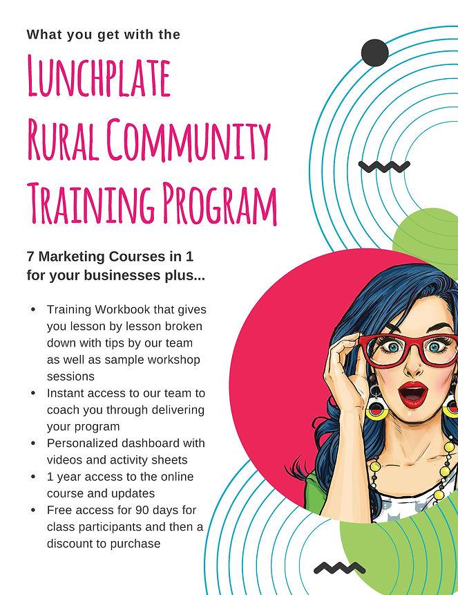 Rural Community Training Program Flyer1.
