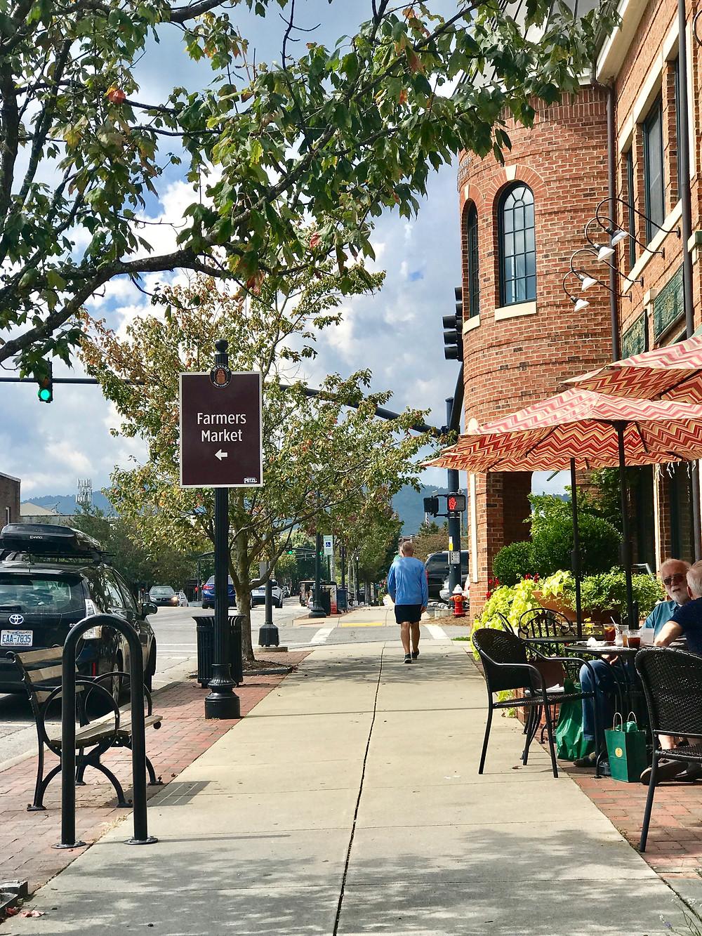 Downtown Brevard, NC