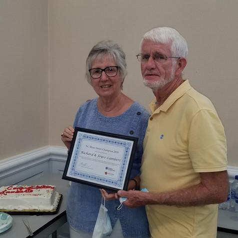 Richard & Joyce Lambert - Albemarle