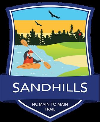 Sandhills Region Main to Main Trail Badge