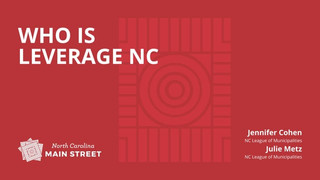 Who is Leverage NC?