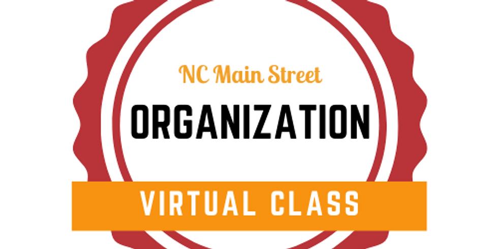 Organization Basic Training - Virtual Class