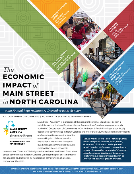 NC Main Street Annual Report 2021_SCREEN