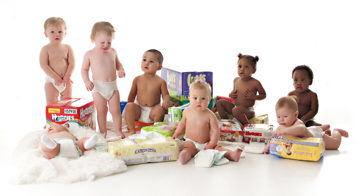 All babies deserve clean diapers