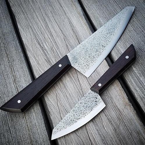 Custom Wenge Knife Pair