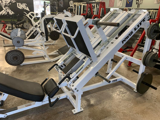 POWER LIFT ISO LEG PRESS