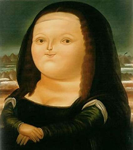 Fernando de Botero'nun şişman kadını
