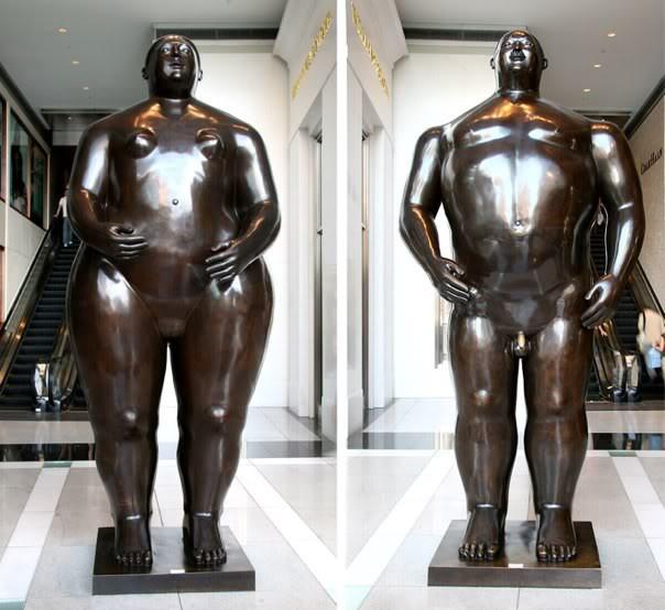 Fernando de Botero'nun bir eseri