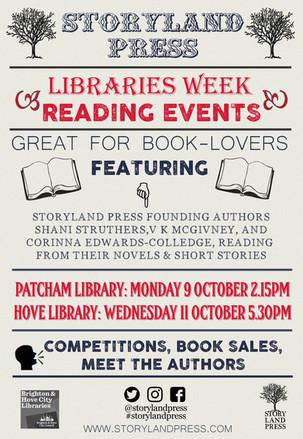 Libraries Week Poster