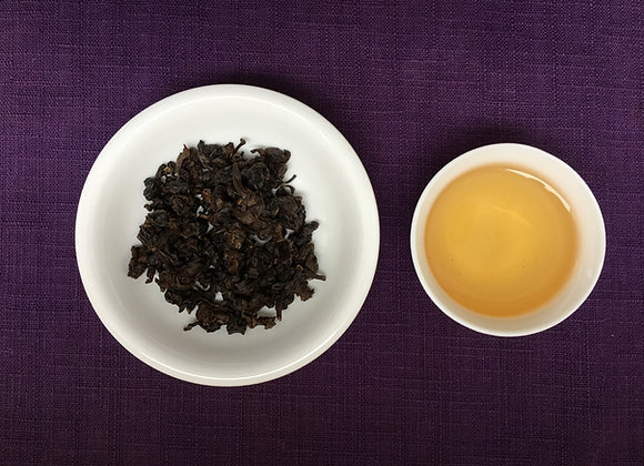 Natural Mid-Roasted GABA Oolong Tea (Gabaron, Jia Wu Long Cha) 中焙佳葉龍茶