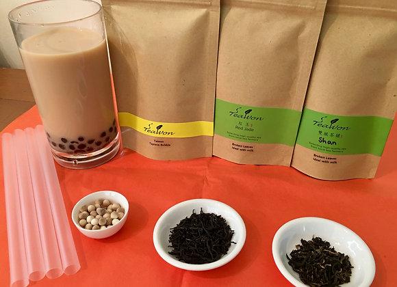 Taiwan Bubble Tea DIY Kit︱台灣珍珠奶茶自製組