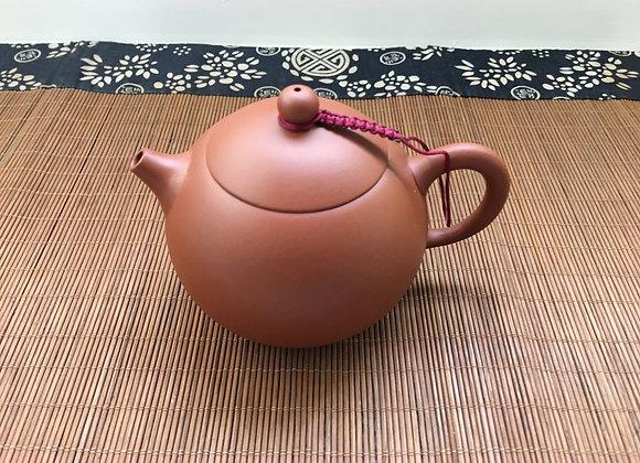Red Kong Fu Tea Pot Xi Shi- Short Spout 220cc (Made in Taiwan) 短口茶壺
