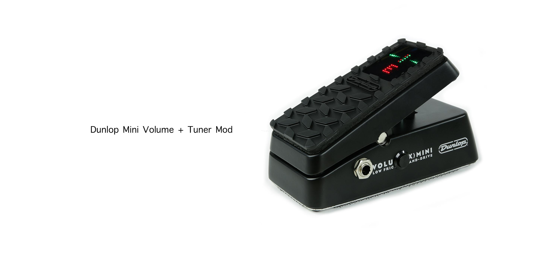 Dunlop Mini Volume Tuner Mod Switch Bann