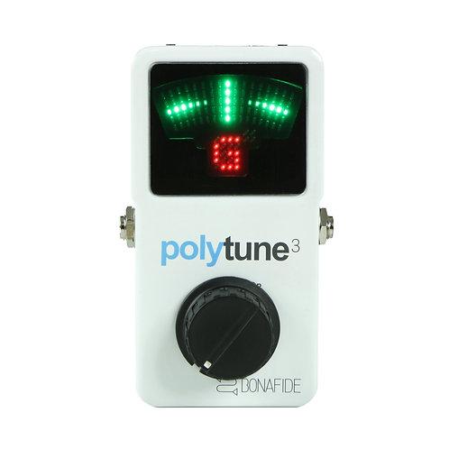 TC Electronic Polytune 3 + Volume Knob Mod