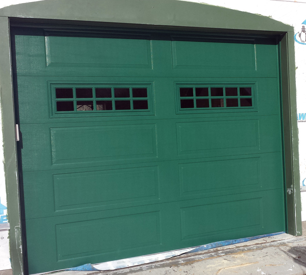 OptiFinish Green Standard door