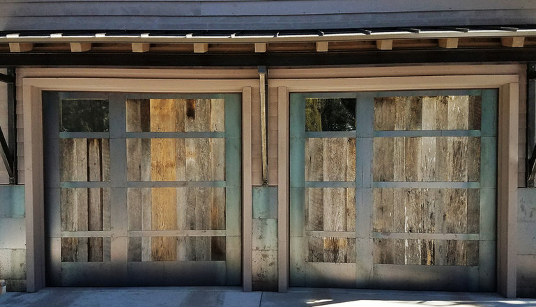 Wood and Metal Overlay